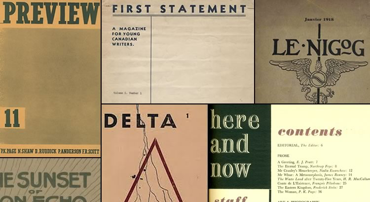 Canadian Modernist Magazines Project